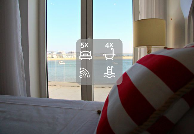 Ocean View flat rent shared swimming pool praia São Martinho do Porto